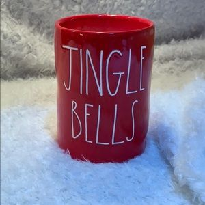 Rae Dunn Jingle Bells Large Candle